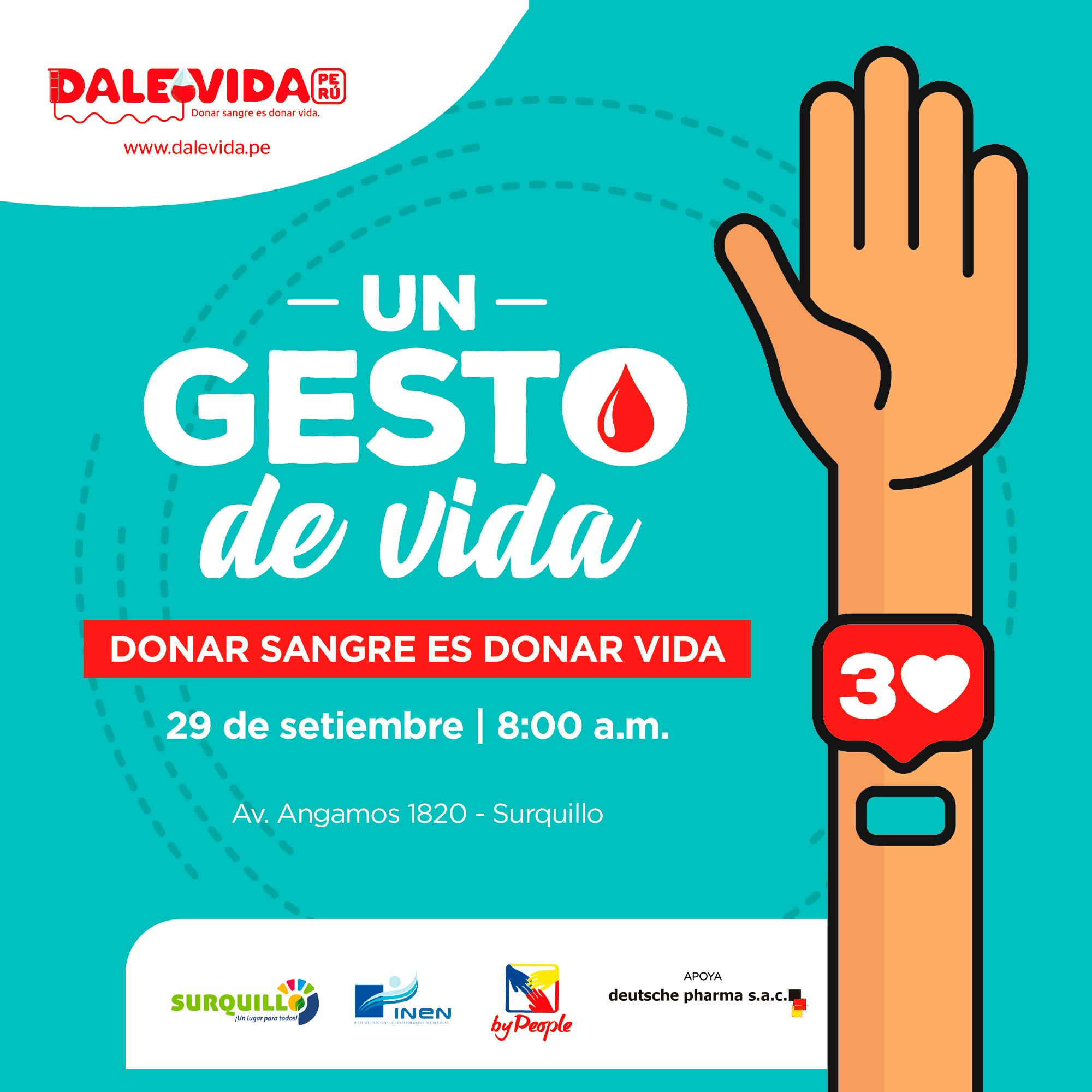 Dale Vida Surquillo : 29/09/2020