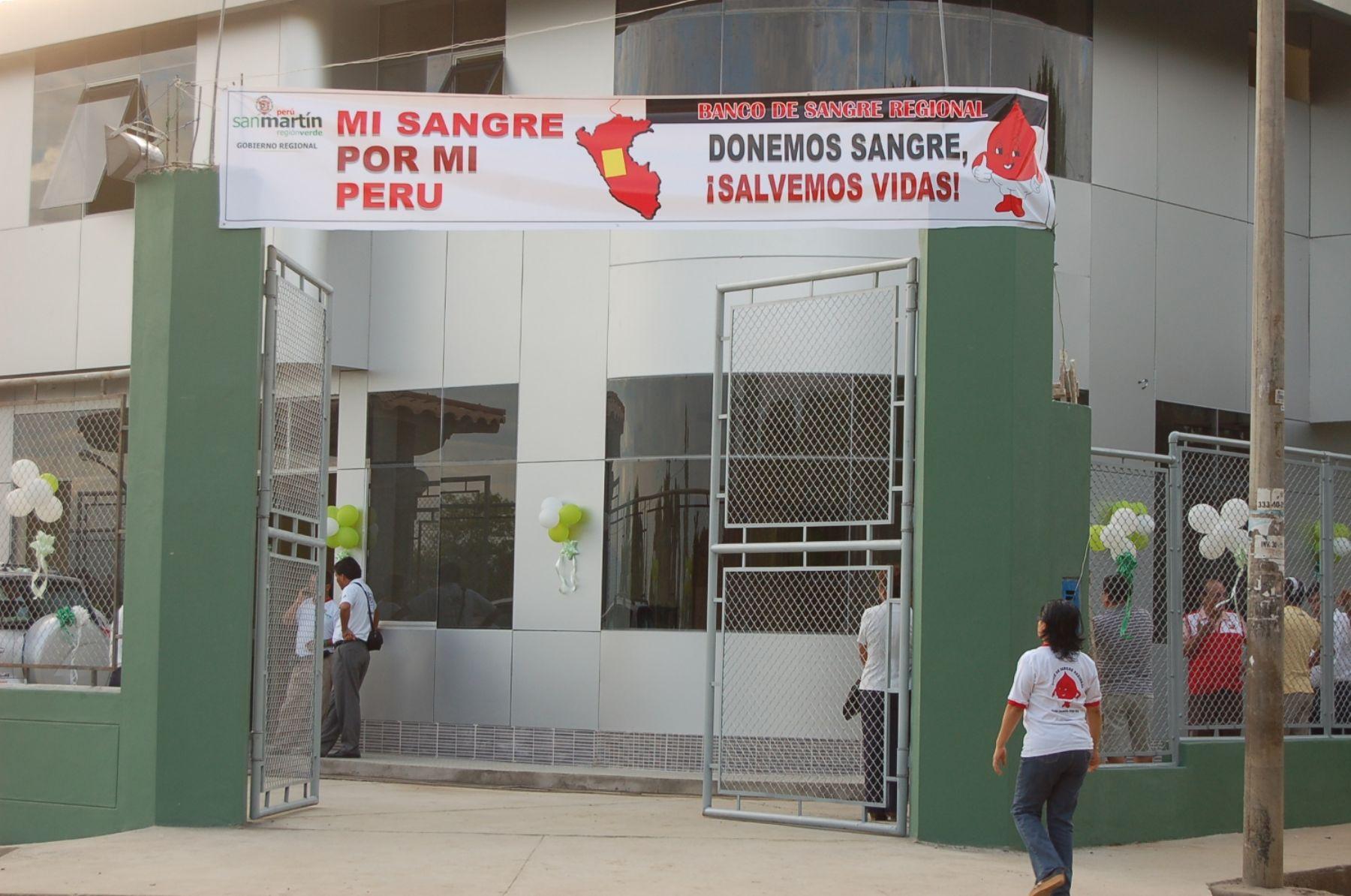 Banco de Sangre de la Región San Martin