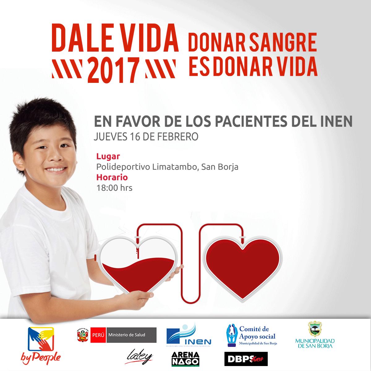 Dale Vida San Borja 2017: 16/02/2017