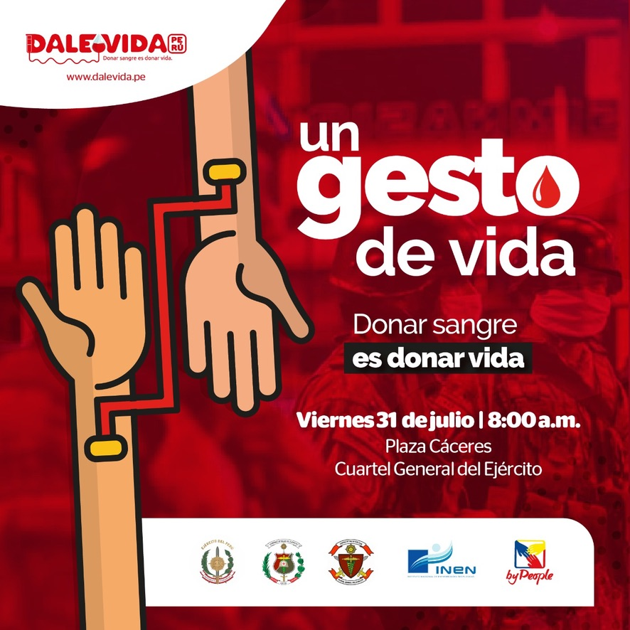 Dale Vida Ejercito del Perú - INEN: 31/07/2020.
